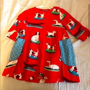 Mini boden dog swing dress